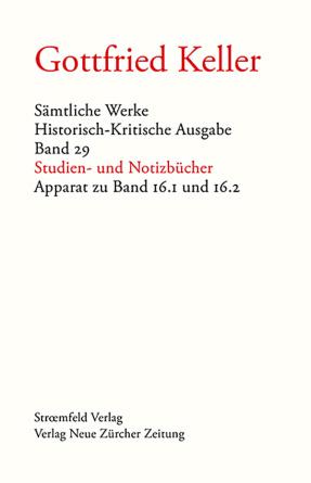 Sämtliche Werke. Historisch-Kritische Ausgabe, Band 29
