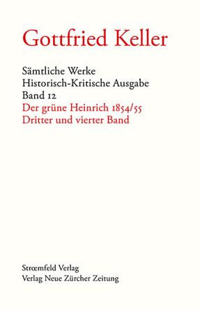 Sämtliche Werke. Historisch-Kritische Ausgabe, Band 12