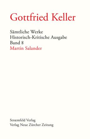 Sämtliche Werke. Historisch-Kritische Ausgabe, Band 8