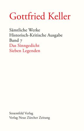 Sämtliche Werke. Historisch-Kritische Ausgabe, Band 7