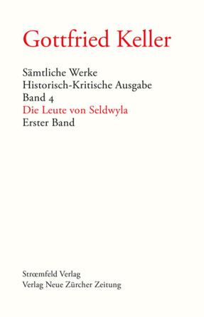 Sämtliche Werke. Historisch-Kritische Ausgabe, Band 4