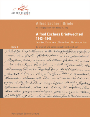 Alfred Escher Briefe, Band 3