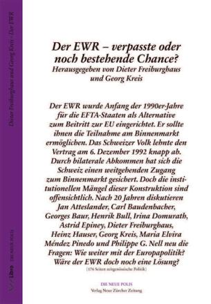 Der EWR – verpasste oder noch bestehende Chance?
