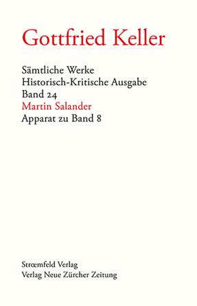 Sämtliche Werke. Historisch-Kritische Ausgabe, Band 24