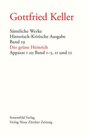 Sämtliche Werke. Historisch-Kritische Ausgabe, Band 19 & 20