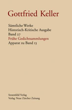 Sämtliche Werke. Historisch-Kritische Ausgabe, Band 27