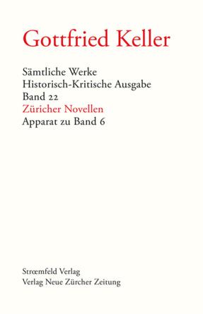 Sämtliche Werke. Historisch-Kritische Ausgabe, Band 22