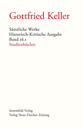 Sämtliche Werke. Historisch-Kritische Ausgabe, Band 16.1