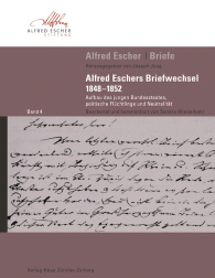 Alfred Escher Briefe, Band 4