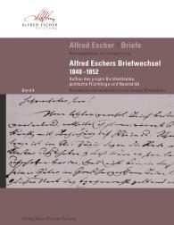 Alfred Escher Briefe, Band 4