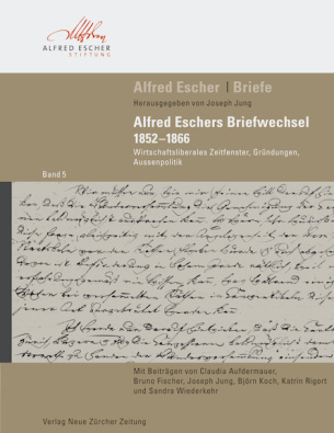 Alfred Escher Briefe, Band 5