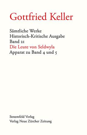 Sämtliche Werke. Historisch-Kritische Ausgabe, Band 21