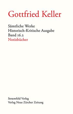 Sämtliche Werke. Historisch-Kritische Ausgabe, Band 16.2
