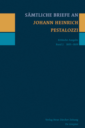 Sämtliche Briefe an Johann Heinrich Pestalozzi, Band 2